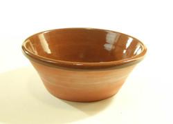 #775 Plain Redware Bowl
