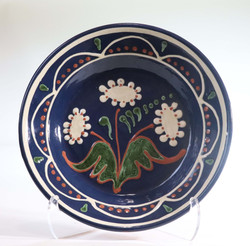 # 791 Decorated Plate