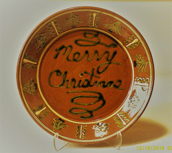 #794 Christmas Platter