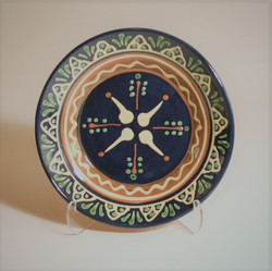 # 796 Decorated Plate