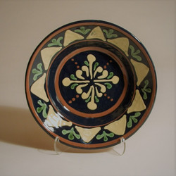 # 798 Decorated Plate