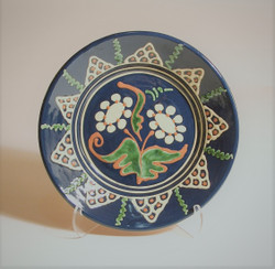 # 809 Decorated Plate