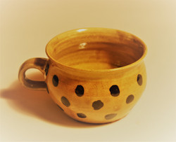 #819 Dotted Porringer