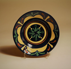 # 821 Decorated Plate