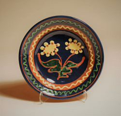 # 822 Decorated Plate