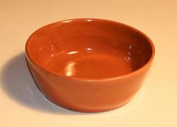 #825 Redware Pan