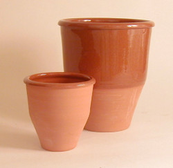 #36 a Unlidded Redware Crock