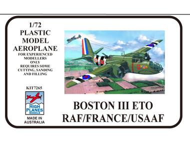 High Planes Douglas Boston III