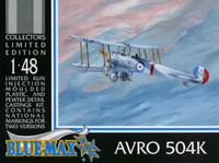 Blue Max Avro 504K Kit 1:48