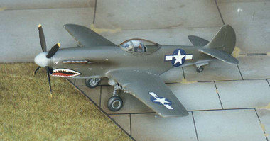 Pegasus XP-40Q Warhawk Kit 1:72