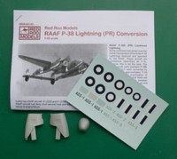 Red Roo Models Lockheed P-38 PR conversion Accessories 1:48
