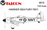 Falcon Hawker Sea Fury FB11 Kit 1:48