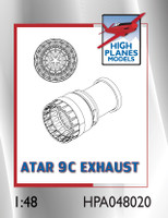 High Planes Dassault Mirage IIIE/O/5 SNECMA ATAR 9C Exhaust Resin Accessories 1:48