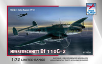 High Planes Messerschmitt Me 110 G2