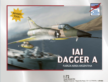 High Planes IAI Dagger Falklands Kit 1:72 (HPK072071)