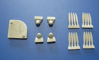 Red Roo Models Lincoln Propellor Set Accessories 1:72