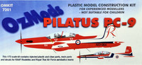 OzMods Scale Models 1/72 Pilatus PC-9 Kit 1:72