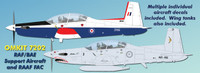 OzMods Scale Models 1/72 Pilatus PC-9 RAAF BAe Kit 1:72