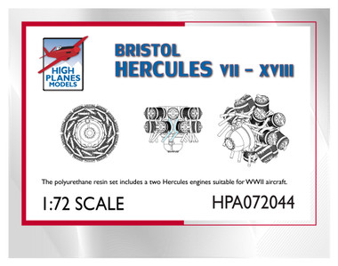 High Planes Bristol Hercules VI-XVIII Accessories 1:72