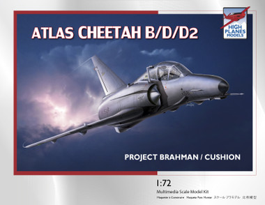 "High Planes ATLAS Cheetah B/D/D2 ""Project Brahman / Cushion"" Kit 1:72"
