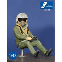 PJ Productions Rafale pilot seated in aircraft Figures 1:48  481124