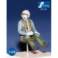 PJ Productions German F-4 pilot seated in aircraft Figures 1:48