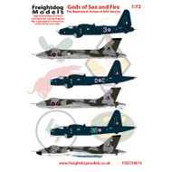 Freightdog 'Gods of Sea and Fire' Vulcan & Neptune Decals 1:72