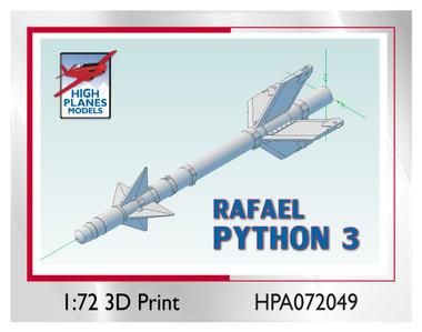 High Planes Rafael Python-3 Air to Air Missile Accessories 1:72 (HPA072049)
