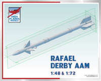 High Planes Rafael Derby / R-Darter Air to Air Missile Air to Air Missile x 2 Accessories 1:72