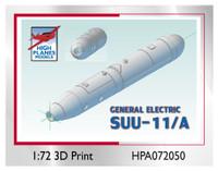 High Planes GE SUU-11/A Minigun Pod x 2 Accessories 1:72 (HPA072050)