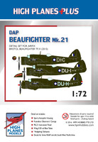 HPL072014 High Planes DAP Beaufighter Mk. 21 conversion