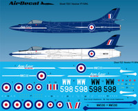 Freightdog Airdecal Hawker P1109A Conversion 1:72 (FSD72021)