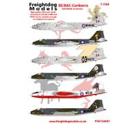 Freightdog EE/BAC Canberra RAF, RAAF Service Decals 1:144 (FSD144001)
