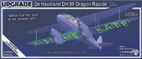 Tasman DH89A Dragon Rapide Sky Neon Kit Collectors Edition 1:72