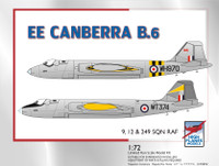 High Planes EE Canberra B6 Suez Kit 1:72 HPK072098