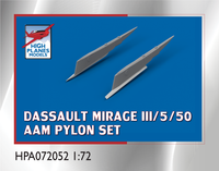 High Planes MIrage III/5/50 AAM Pylons Accessories
