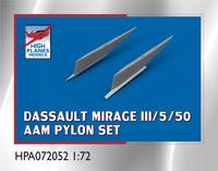 High Planes MIrage III/5/50 AAM Pylons Accessories