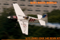 Kiwi Resins Zivco Edge 540 racer (early versions) kit 1/72 (KWR072001)