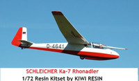 Kiwi Resins Schliecher Ka-7 Sailplane kit 1/72 (KWR072004)
