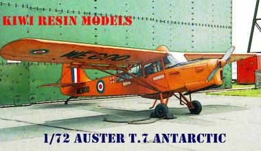 Kiwi Resins Auster T.7 Antarctic kit 1/72 (KWR072005)