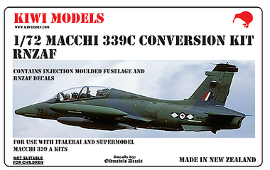 "Kiwi Resins Macchi 339C conversion ""Draken Int, USA"" conversion 1/72"