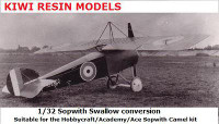 Kiwi Resins Sopwith Swallow conversion 1/32