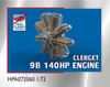 High Planes Clerget 9B 130 horsepower Engine