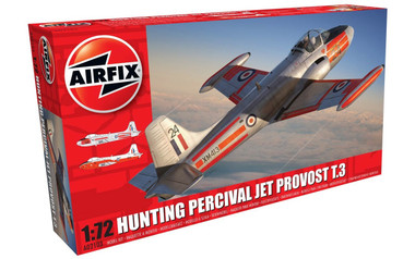 Airfix Hunting Percival Jet Provost T.3/T.3a 1:72 Scale Model Kit (A02103)