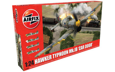 Airfix Hawker Typhoon 1B - Car Door 1:24 Scale Model Kit (A19003)
