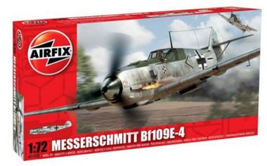 Airfix A01008 Messerschmitt Bf109E-4 1:72 Scale Model Kit