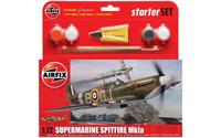 Airfix A55100 Supermarine Spitfire MkIa Small Starter Set - 1:72 Scale Model Kit