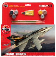 Airfix A55301 Large starter Set - Panavia Tornado F.3 1:72 Scale Model Kit