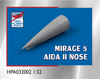 High Planes Dassault Mirage 5 Aida II Nose Accessories 1:32