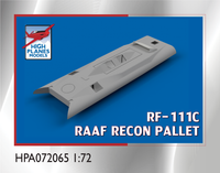 High Planes RF-111C Reconnaissance Pallet Accessories 1:72
